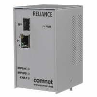 Electrical substation-rated media converter