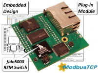 Network interface solution supports ModbusTCP