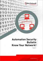 Automation Security Bulletin: Know your network!