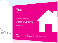 Asset tracking and smart building IoT kits