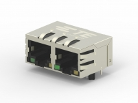 RJ45 jacks with Integrated magnetics