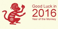 Good Luck in the Year of the Monkey