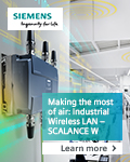 Siemens IWLAN – the WLAN for challenging industrial applications