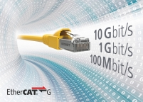 Gigabit EtherCAT network