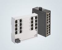 16 port Ethernet switches in a most compact format