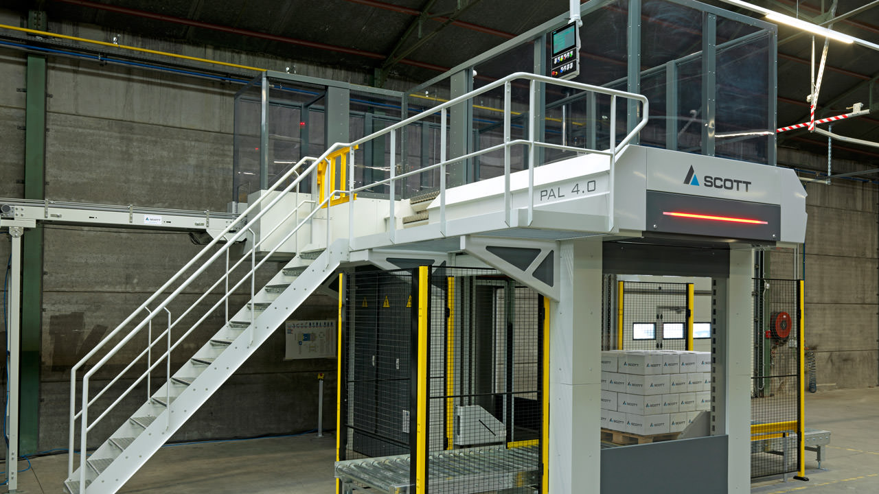 Scott Automation leveraged data acquisition technology in its latest line of palletizers.