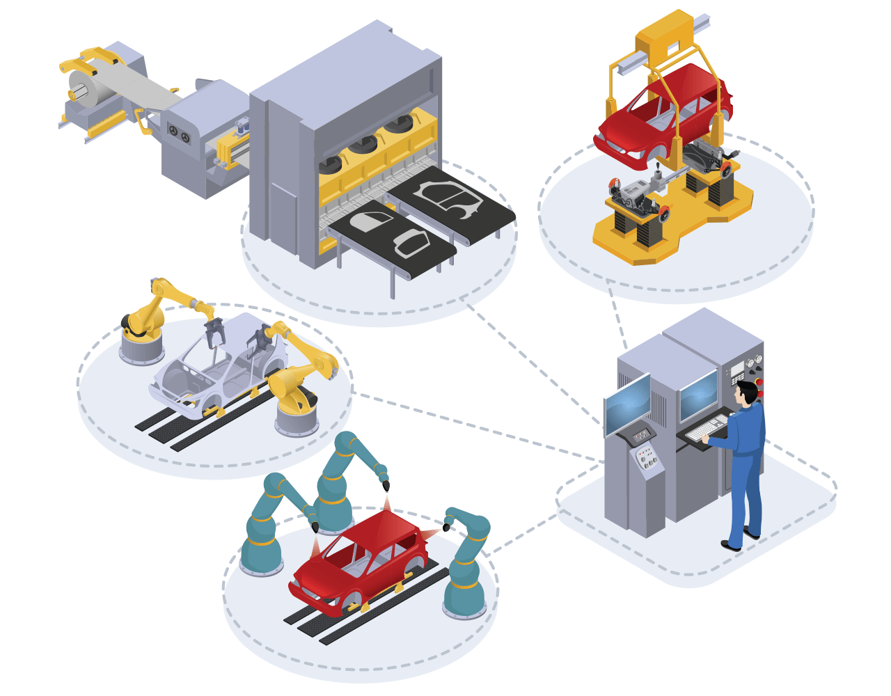 The latency in an IoT deployment is the amount of time between when an IoT sensor starts sending data and when an action is taken on the data.