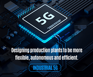 Industrial 5G - Designing production plants to be more flexible, autonomous and efficient.