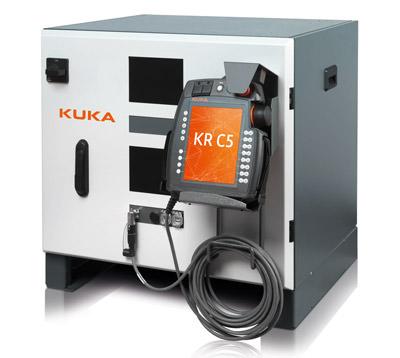KUKA KRC 5 control cabinet.