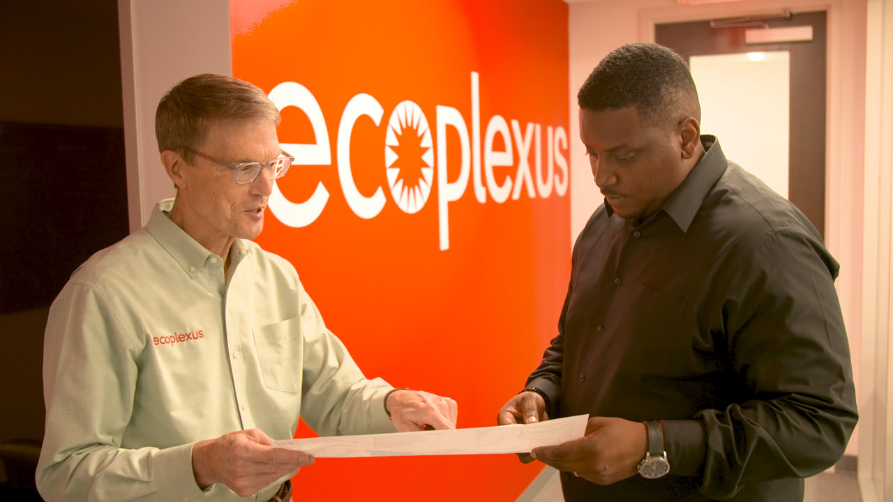 Ecoplexus consolidated systems and reduced long-term operating and maintenance costs by a significant amount.