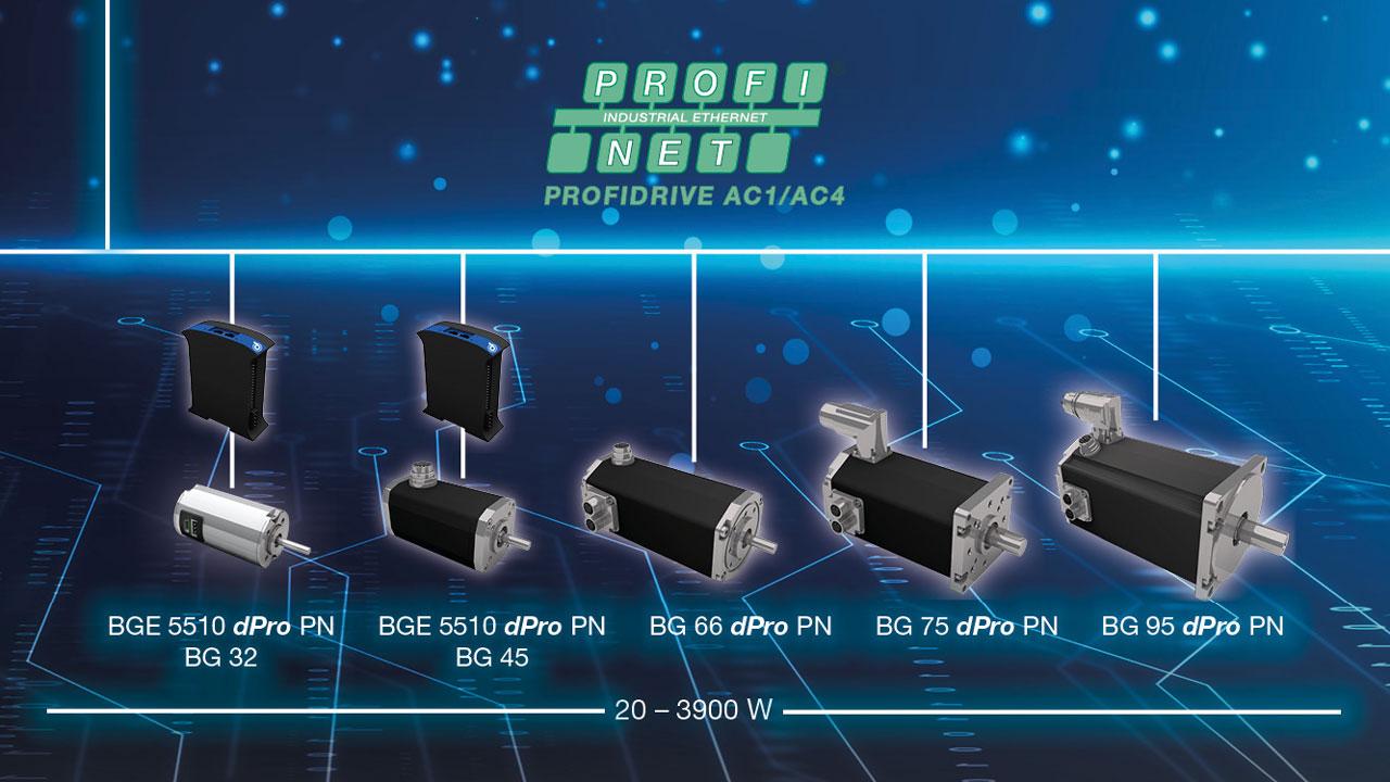 Dunkermotoren BG DPro PN integrated motors