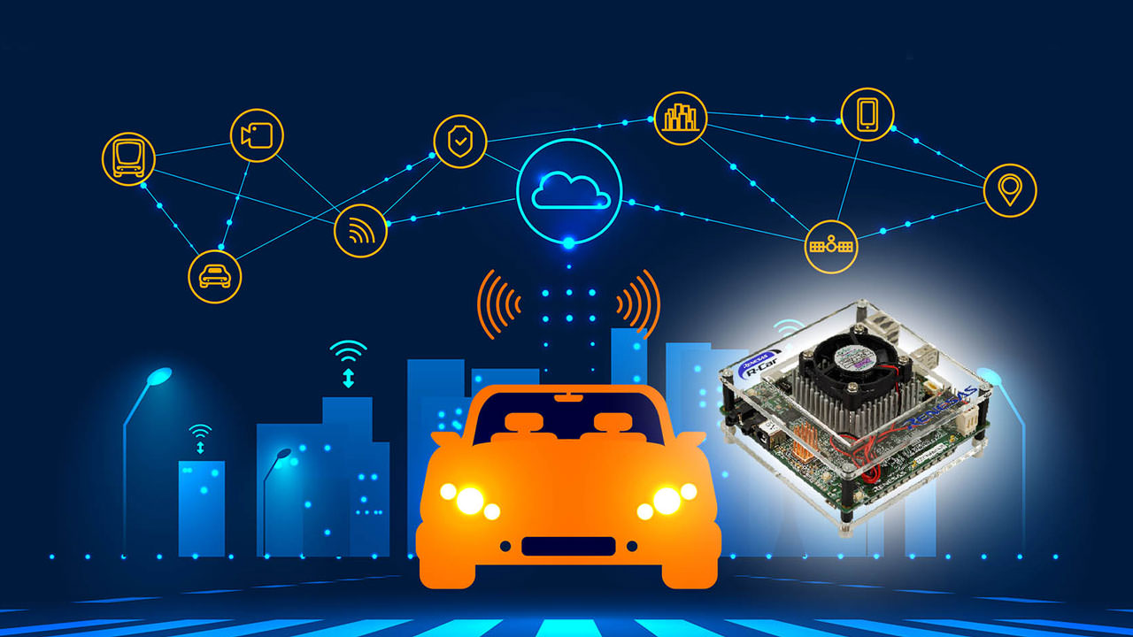 R-Car Starter Kit uses Microsoft Connected Vehicle Platform and Azure IoT to improve development efficiency for cloud-based mobility devices.