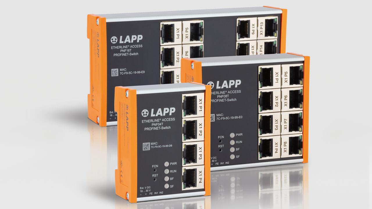 Lapp Profinet Switches