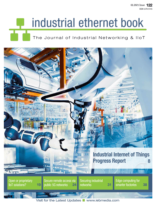 2021 February Cover of Industrial Ethernet Book