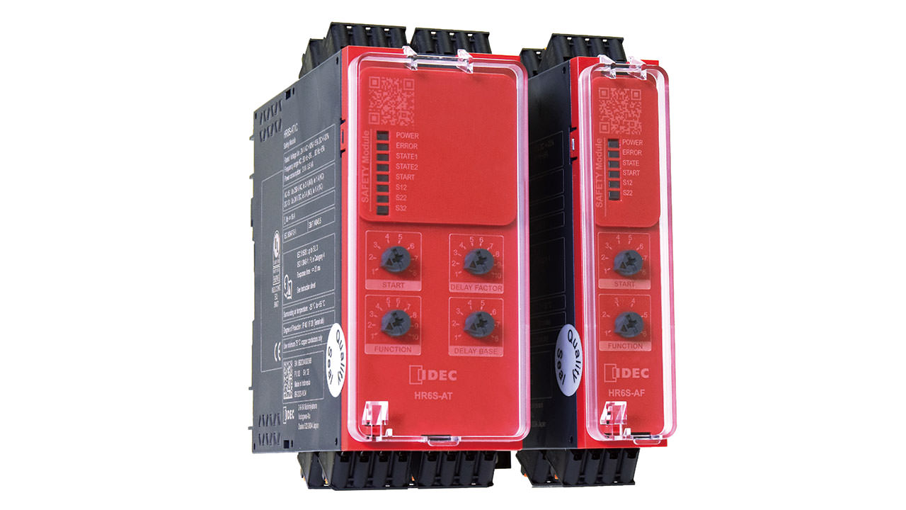 IDEC HR6S Safety Relay