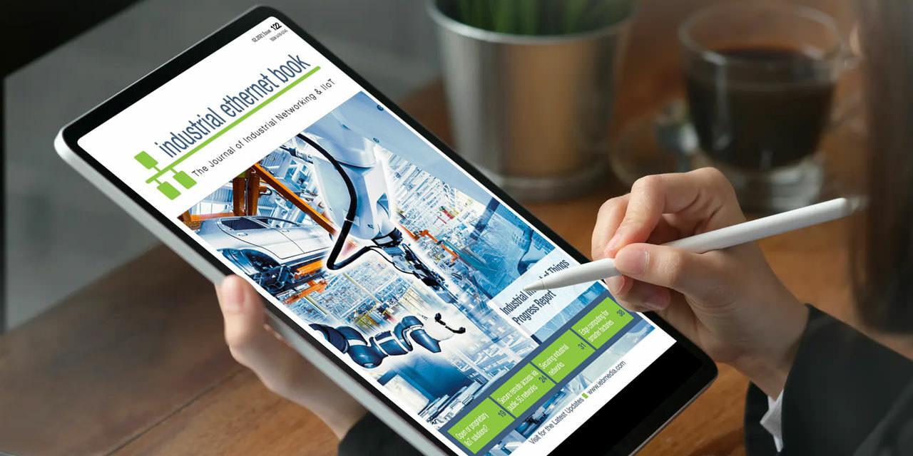 Jan Feb 2021 Industrial Ethernet Book Cover