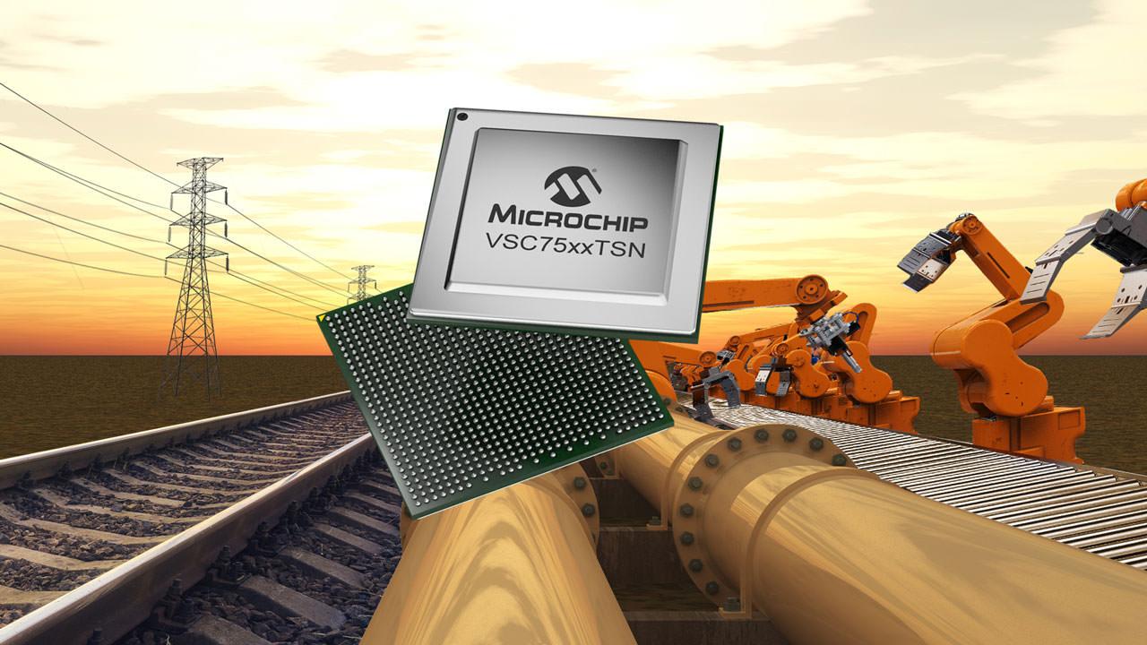 Single chip offers TSN feature set
