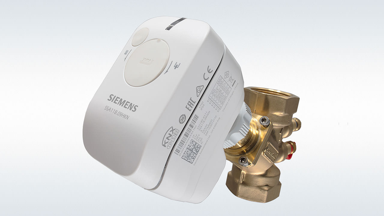 Siemens smart actuator