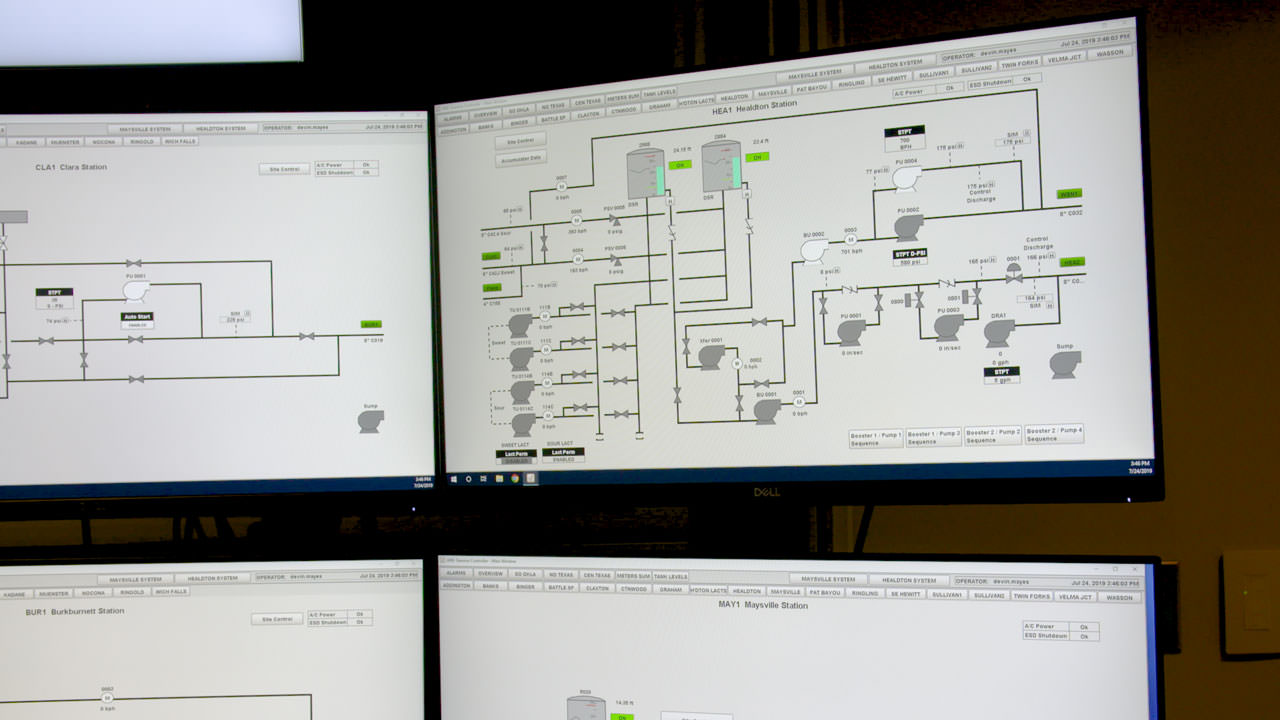 ARB chose to follow API standards for SCADA security, HMI displays, and alarm management.