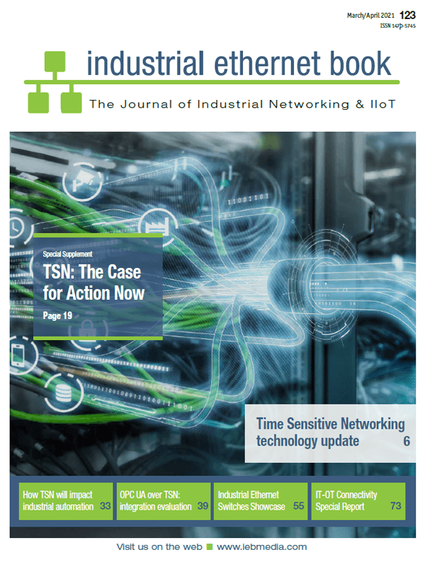 March/April issue, Industrial Ethernet Book