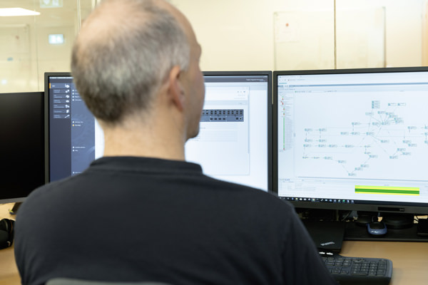 Using the Sinema Server network monitoring software, the staff at the Indre Arna facility can identify issues in the network and resolve them directly by themselves.