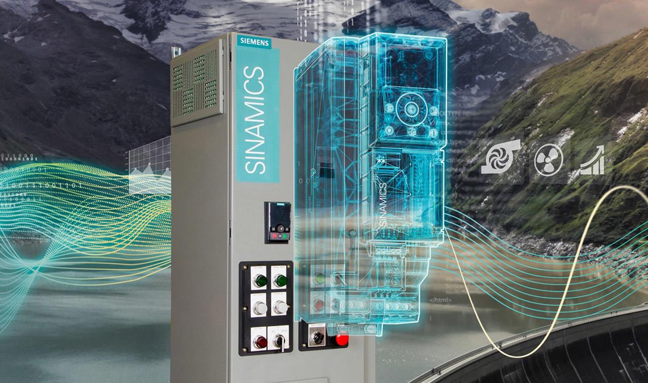 Siemens Sinamics G120XE drive